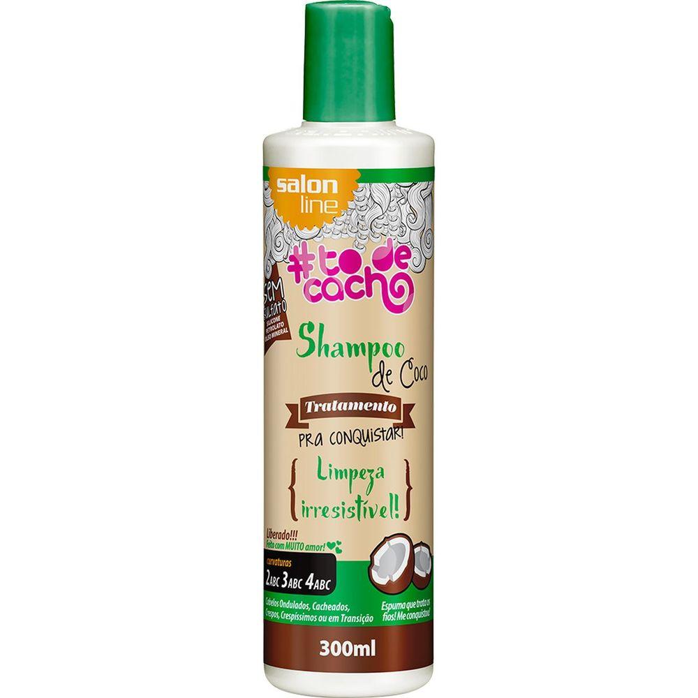 Salon Line Shampoo To De Cacho Coco 300 ml