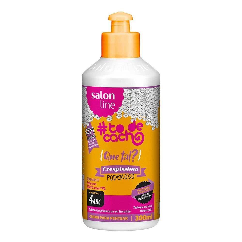 Salon Line To De Cacho Que Tal Crespíssimo Creme de Pentear 300 ml
