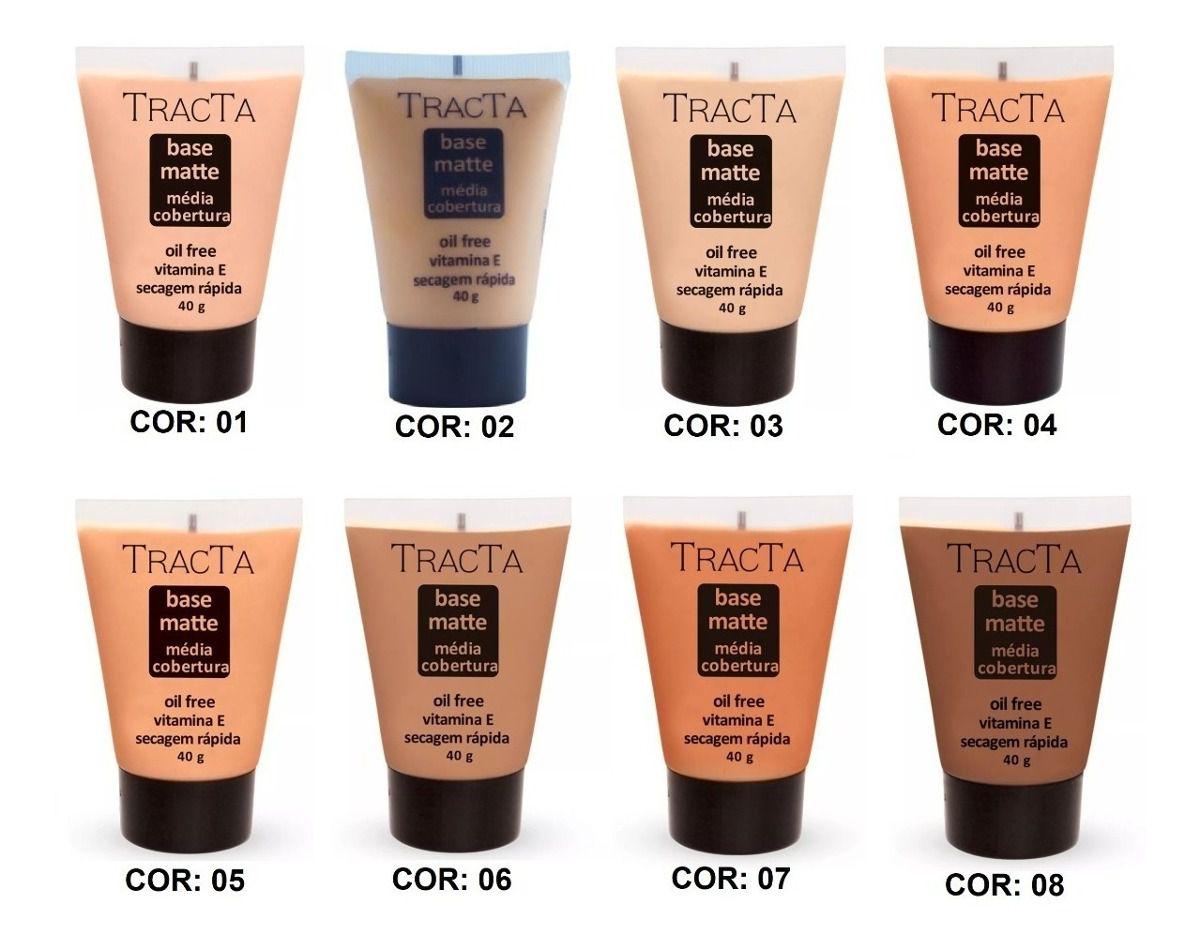 Tracta Base Facial Matte Oil Free 02c