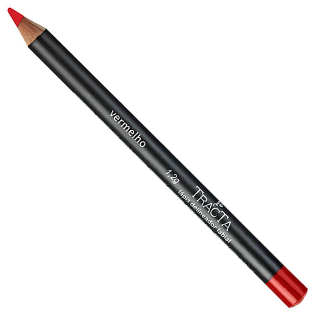 Tracta Lápis Delineador Labial 02 vermelho