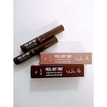 Vult Peel Off Tint Pigmento para sobrancelhas 4g Cor 1