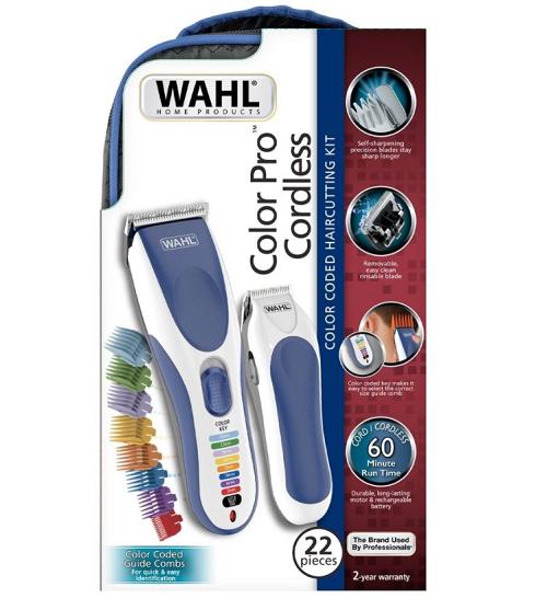 Wahl Kit Máquina de Corte Color Pro Sem Fio & Aparador de Pelos