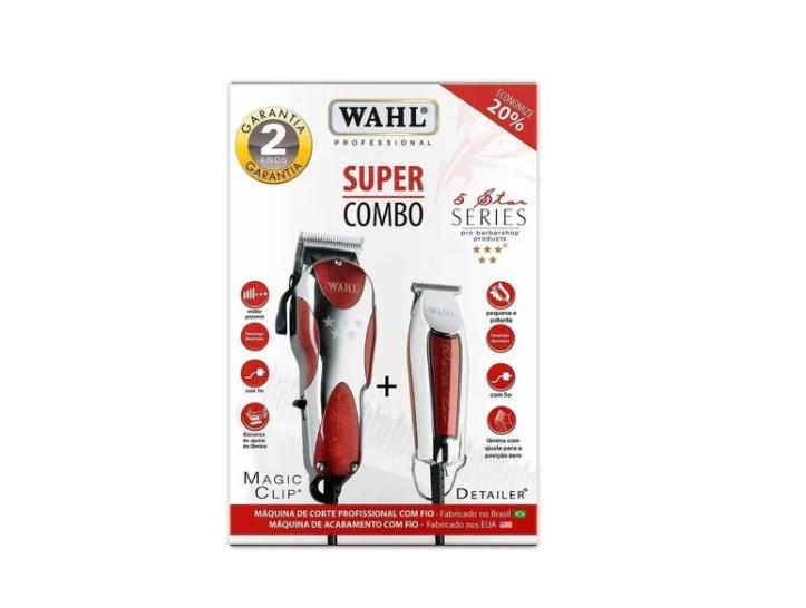 Wahl Kit Máquina de Corte Magic Clip e Detailer 127v