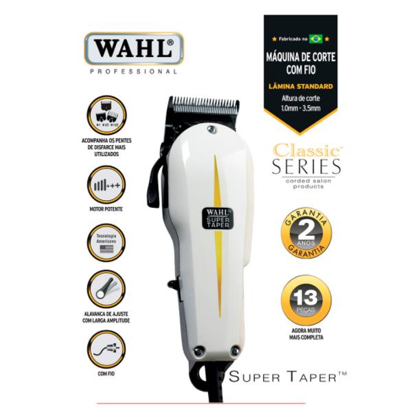 Wahl Máquina de Corte Super Taper 127V
