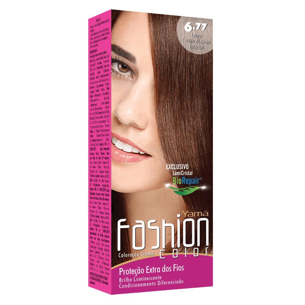 Yamá Mini Kit Fashion Color  N 6.77 + Ox 20 volumes 60ml