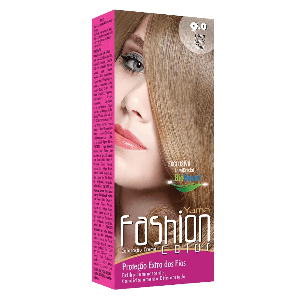 Yamá Mini Kit Fashion Color  N 9.0 + Ox 30 volumes 60ml