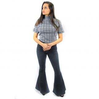 Calça Jeans Flare Black