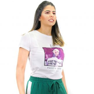 Camiseta N15 Pretend Branco