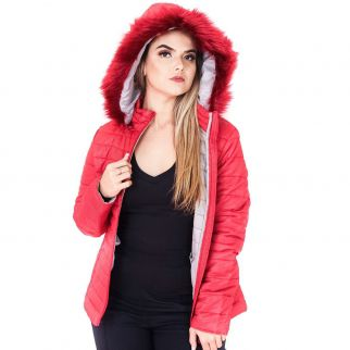 Jaqueta Nylon Vermelha