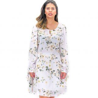Vestido Floral Lilás