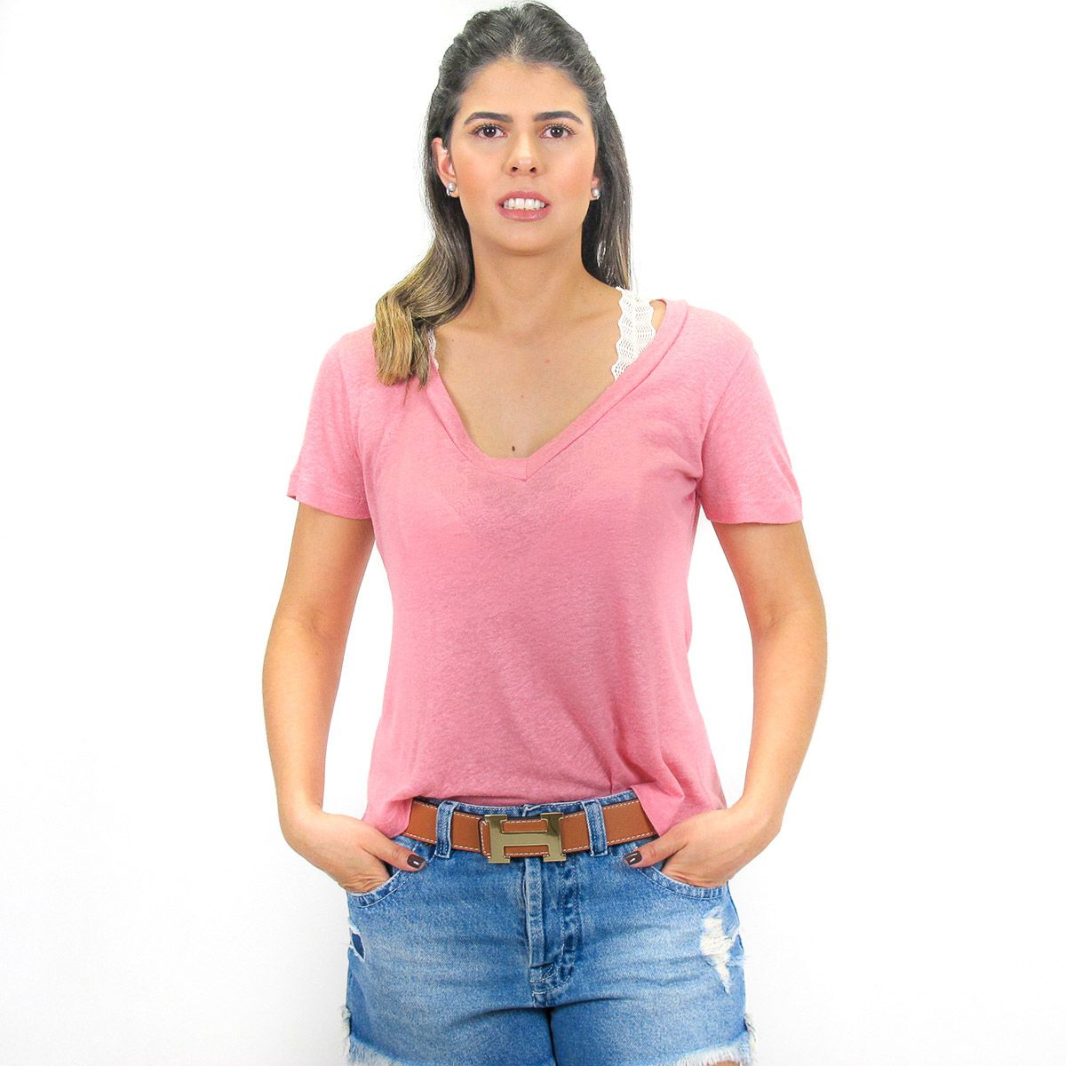 Blusa Podrinha Rosa Seco