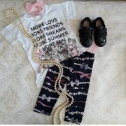 Blusa Pituchinhus branca escritas
