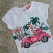 Blusa off white beach MOMI