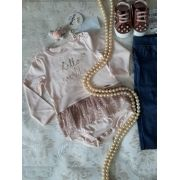 Body ANIME ML cotton tule estrelas