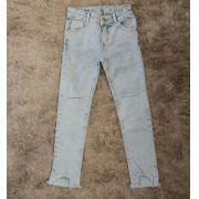 Calça Jeans Mon Sucré  barra desfiada