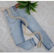 Calça jeans patches ANIMÊ