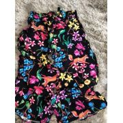 Calça Pantacurt Floral Animê