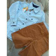 Conjunto camisa com bermuda PRECOCE