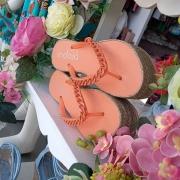 Flat corrente laranja INDAIA
