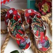 Sandália Indaiá Pimenta Vermelha