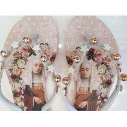Sandália santa rosê INDÁIA