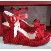Sandália vermelha LIALINE