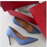 Scarpin azul mertillo CARRANO