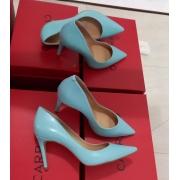 Scarpin azul turquesa CARRANO