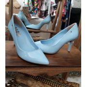 Scarpin verniz azul PARÔ
