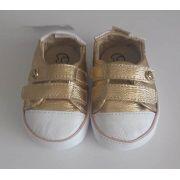 Tênis Gambo Bebê dourado