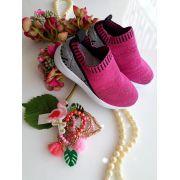 Tênis Gliter Pink