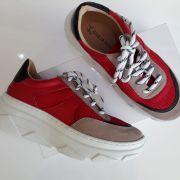 Tênis mult colorido vermelho GIULIA DOMNA