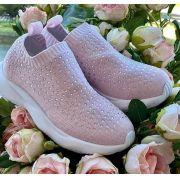 Tênis rosa cristais PITUCHINHUS