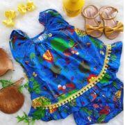 Vestido BB Azul Bic Precoce