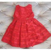 Vestido de festa Animê vermelho