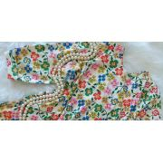 Vestido  de malha floral FÁBULA