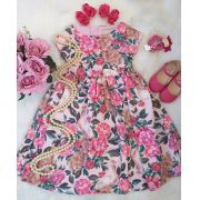 Vestido floral ANIMÊ