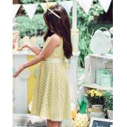 Vestido Momi laise amarelo