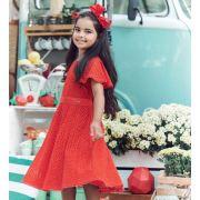 Vestido Momi laise vermelho