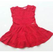 Vestido Momi marias laise vermelho