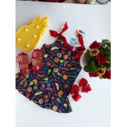 Vestido salada de fruta
