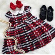 Vestido xadrez ANIMÊ