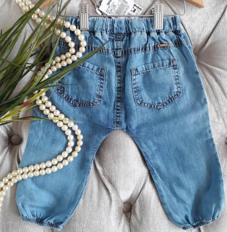 Calça bebê jeans saruel ANIMÊ