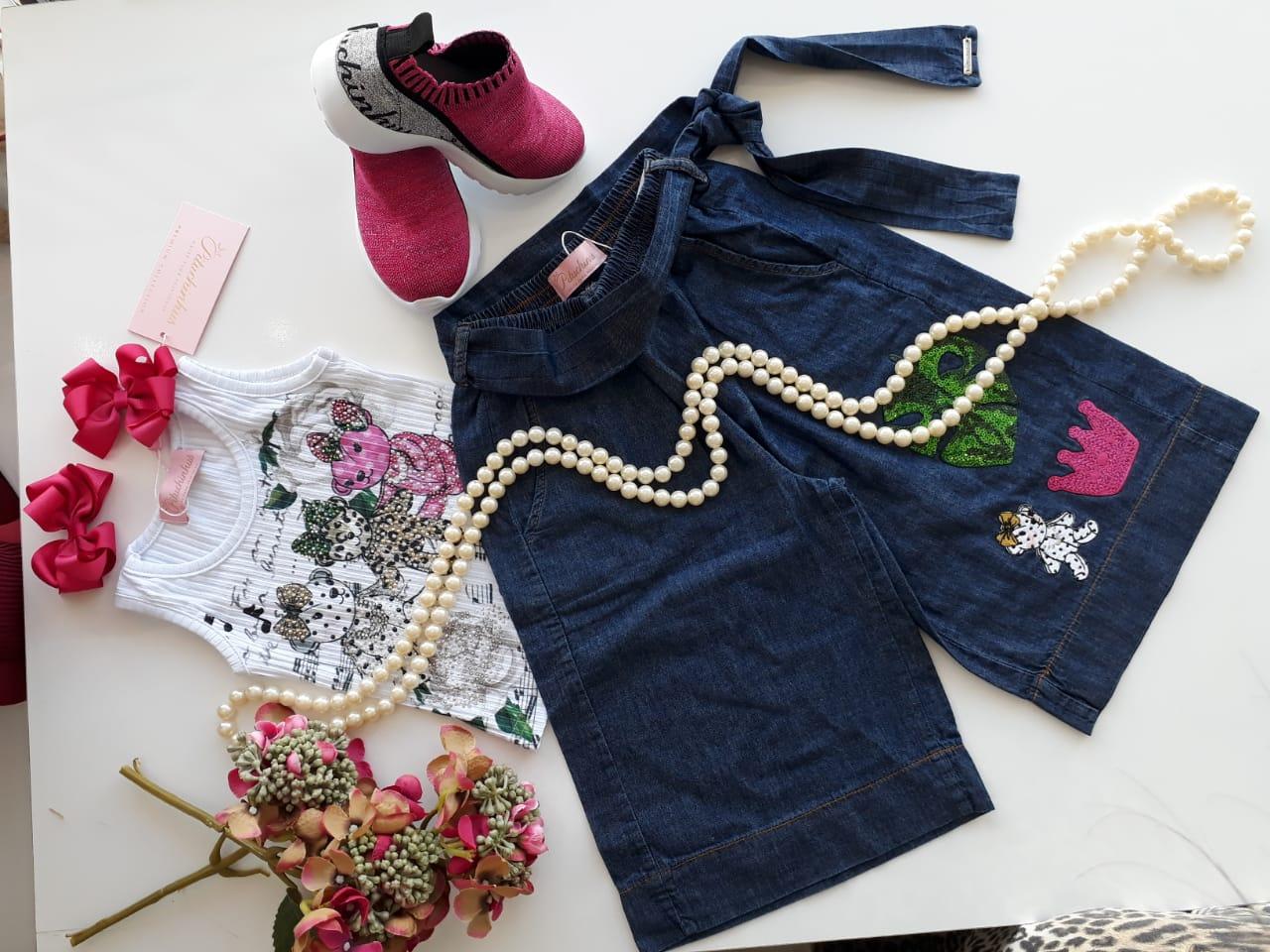 Calça jeans PITUCHINHUS