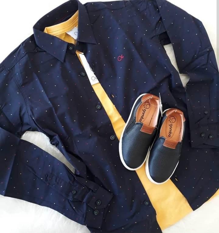 Camisa marinho OGOCHI