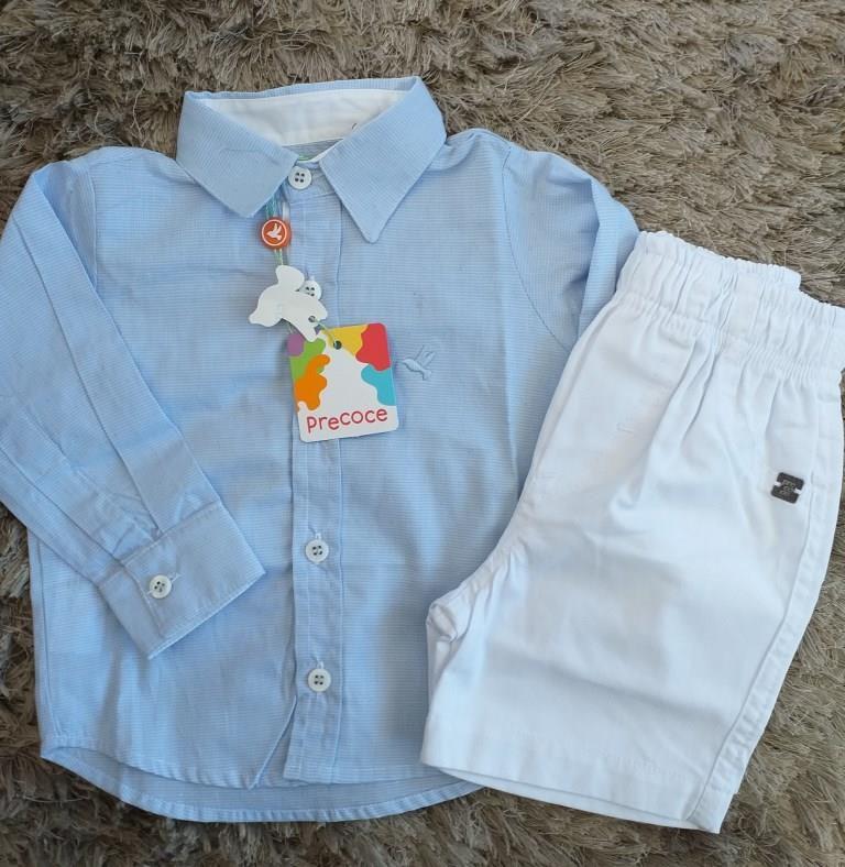 Conjunto camisa e bermuda PRECOCE