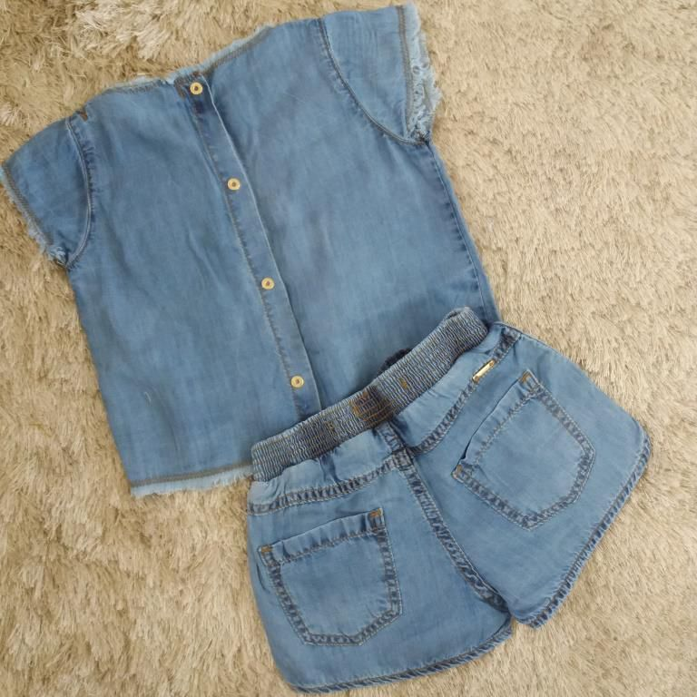 Conjunto jeans patches ANIMÊ
