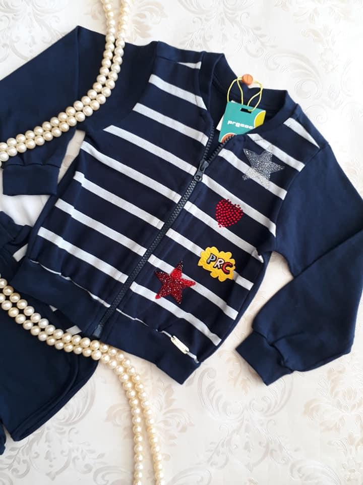 Conjunto PRECOCE 3 peças com jaqueta