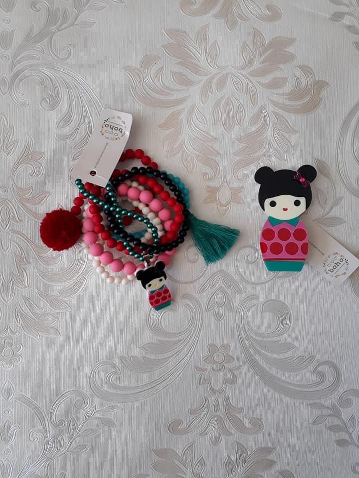 Kit pulseiras BOHO PEACE LOVE