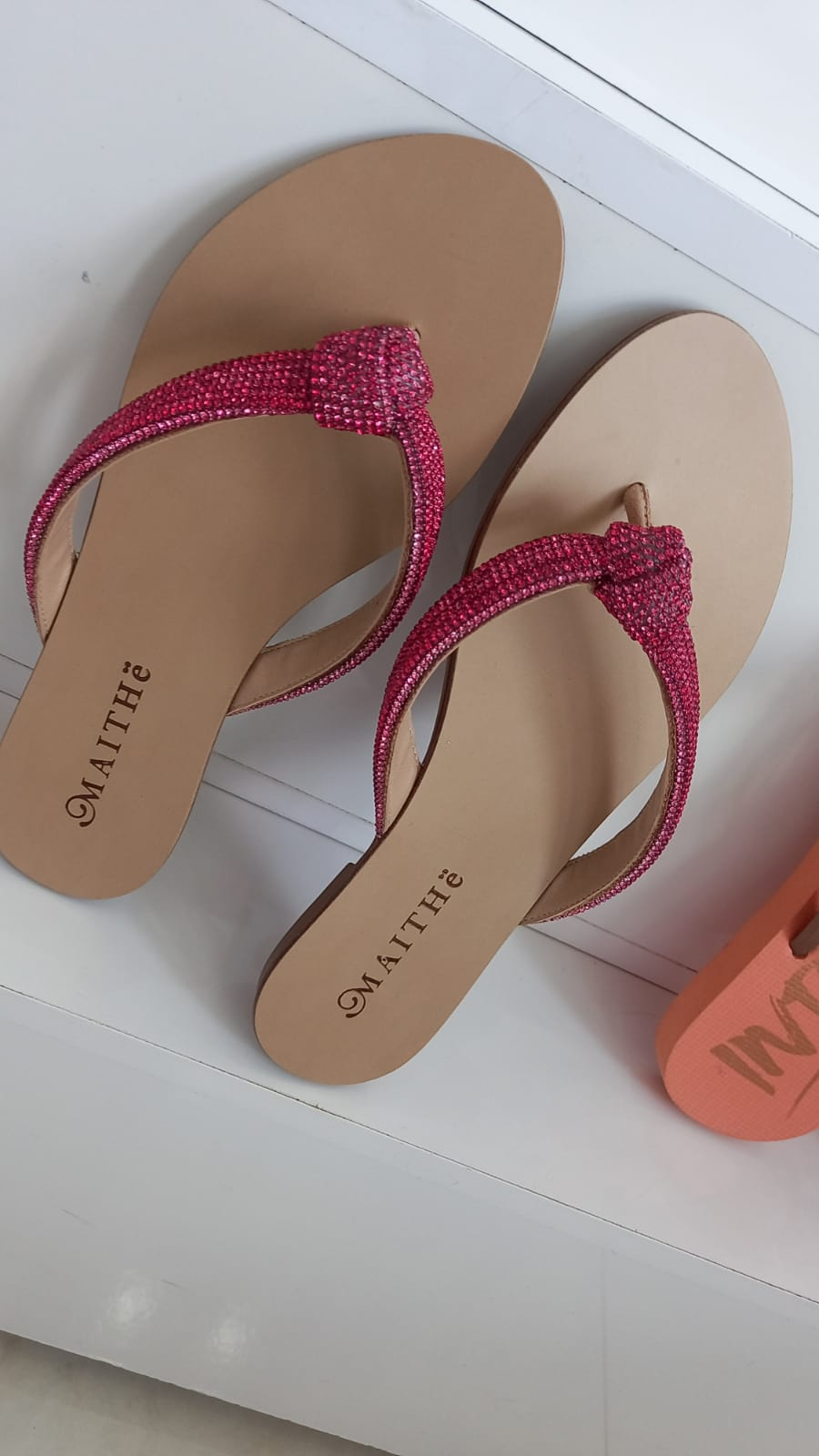 Rasteira pink MAITHÊ